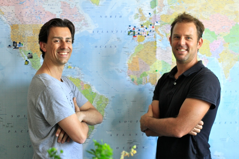 Arnaud Zangrilli - U+ et Benoit Dandine - Air Ocean